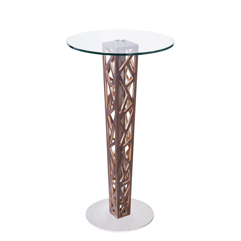Armen Living Crystal Bar Table - Clear