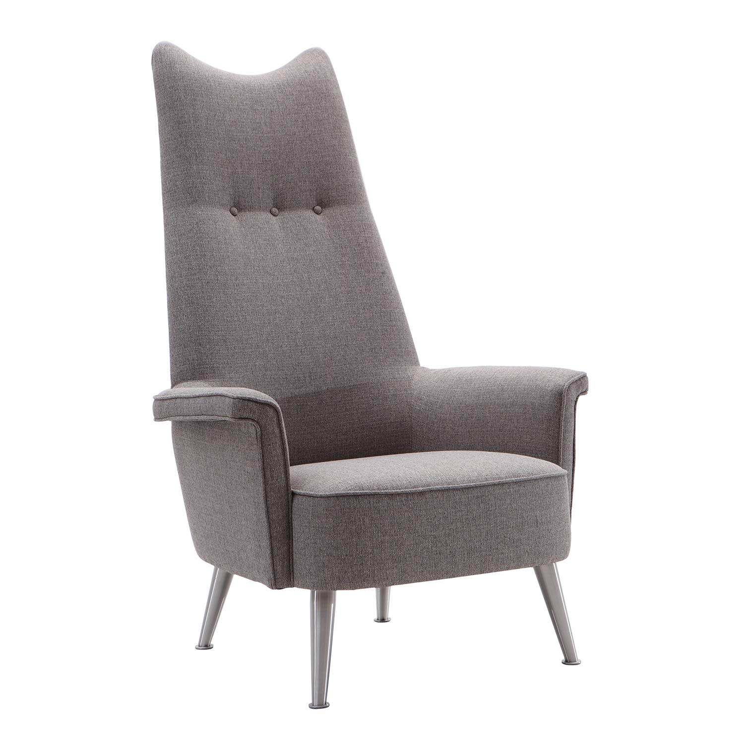 Armen Living Danka Chair - Grey