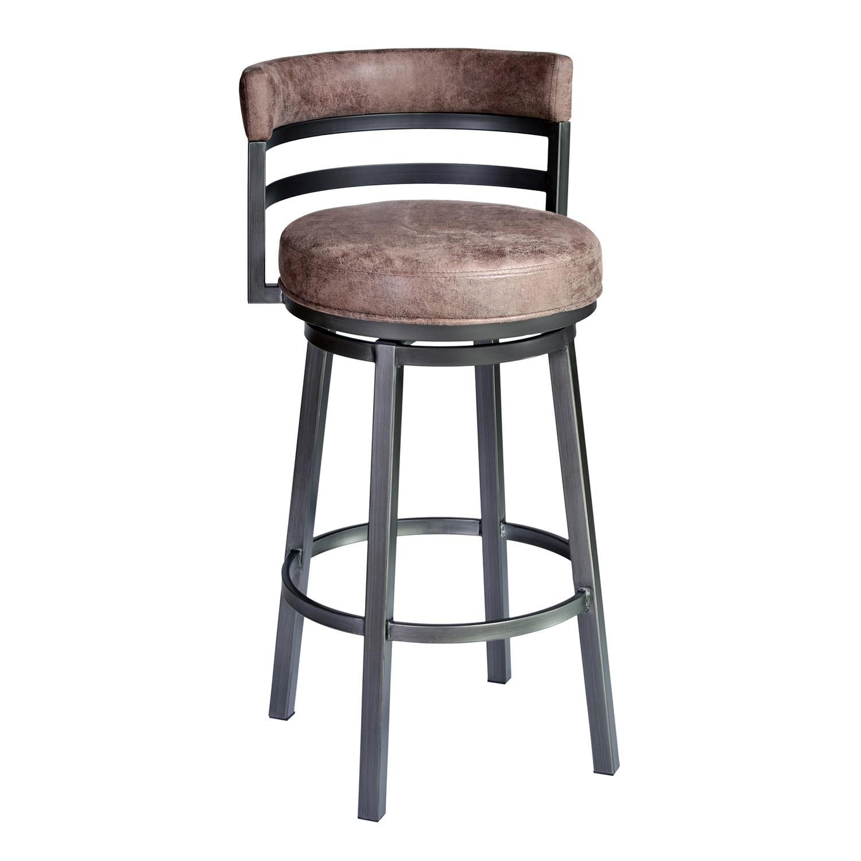 armen living madrid 30 inch bar stool bandero tobacco al lcma30bato at. Black Bedroom Furniture Sets. Home Design Ideas