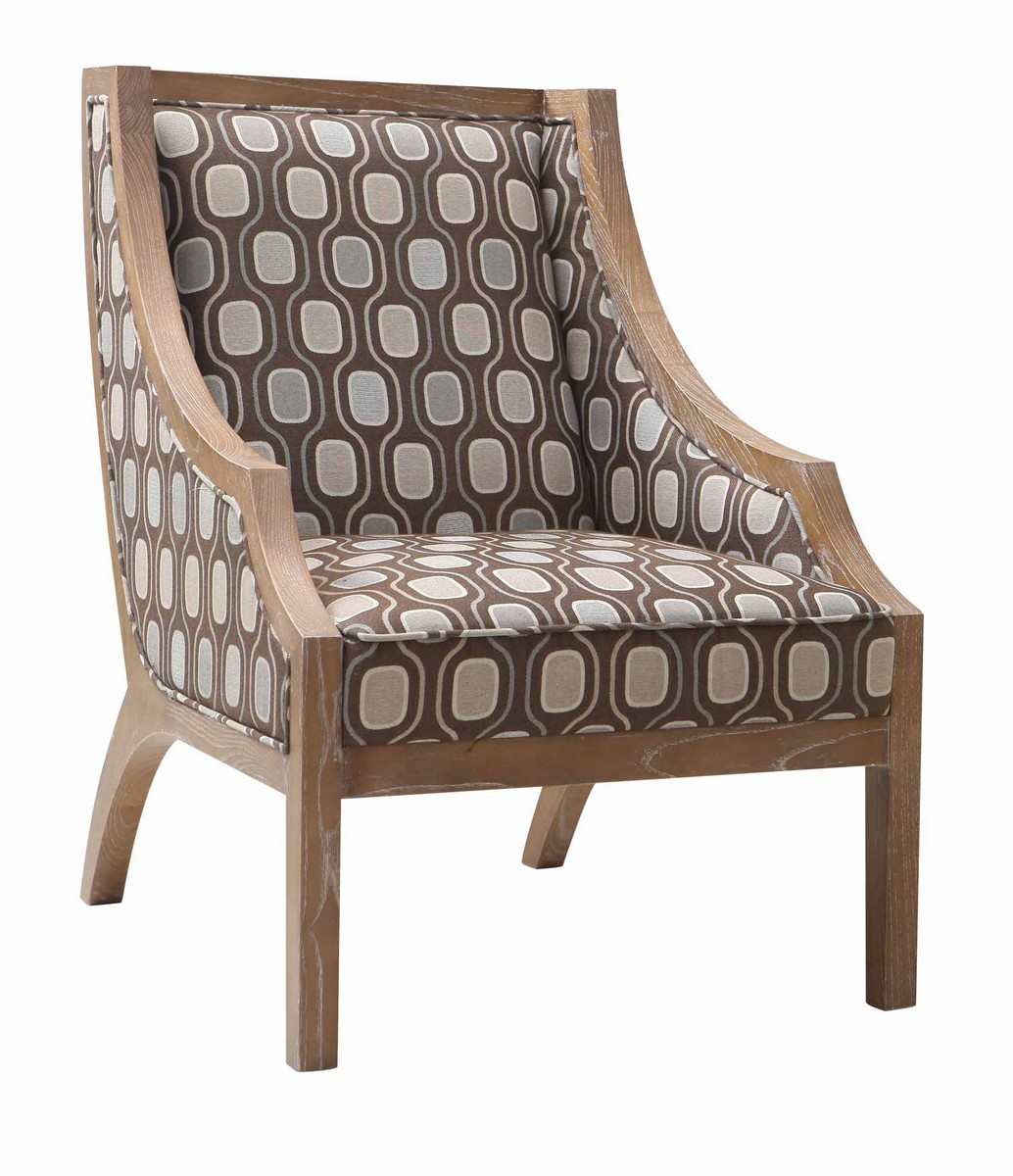 Armen Living Sahara Accent Chair - Multi Colored