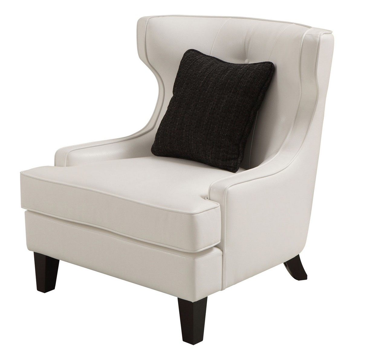 Armen Living Skyline Chair - White