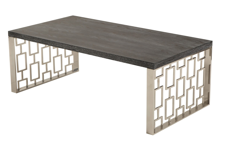 Armen Living Skyline Coffee Table - Charcoal