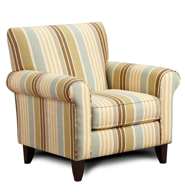 Armen Living Danny Chair - Zola Falx Fabric