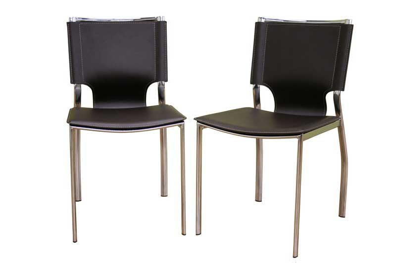 Wholesale Interiors ALC-1083 Brown Dining Chair