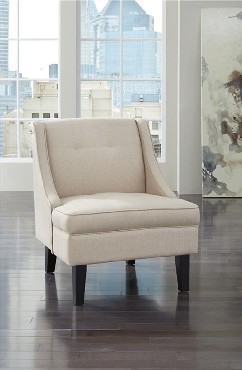 Ashley Clarinda Accent Chair - Cream