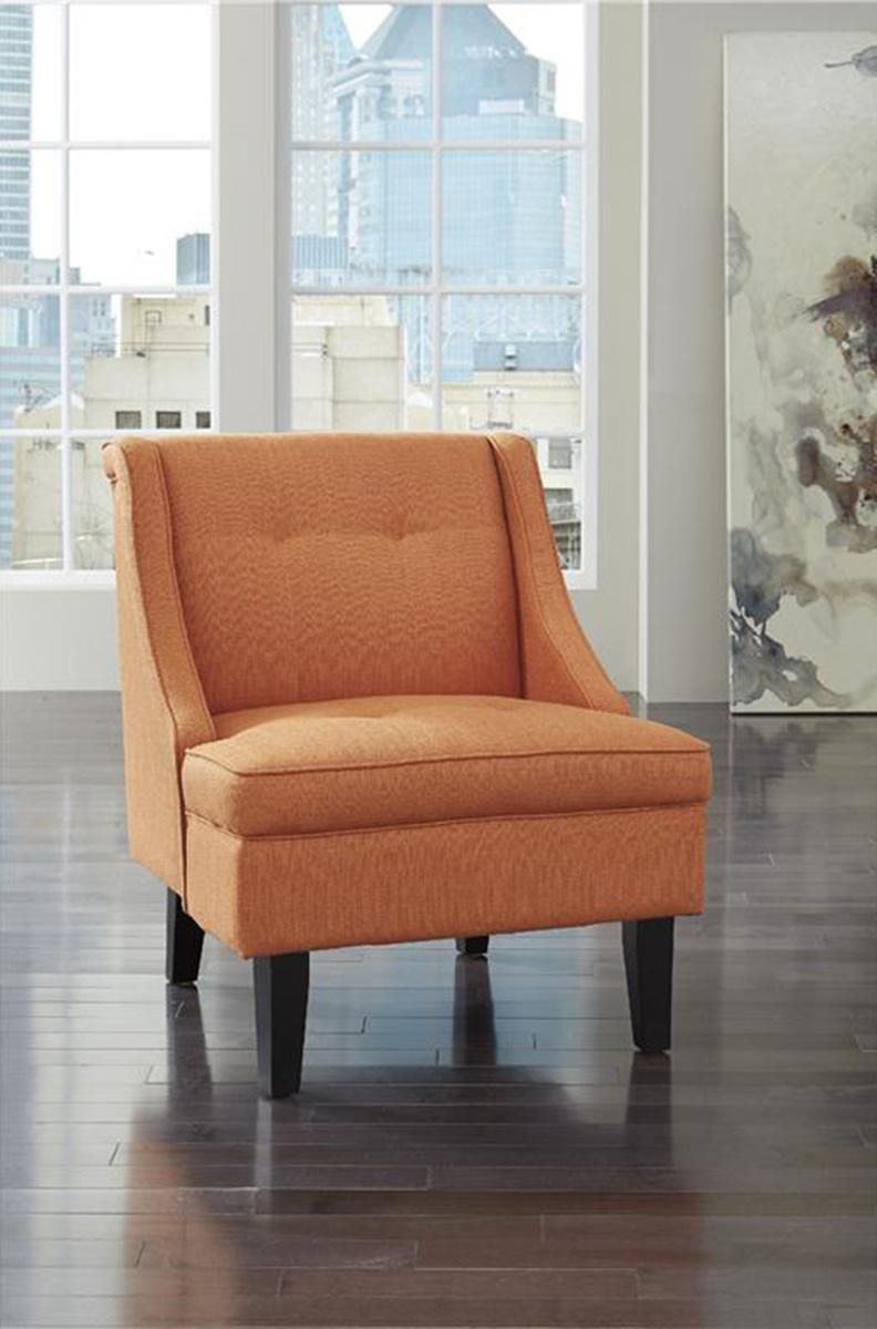 Ashley Clarinda Accent Chair - Orange