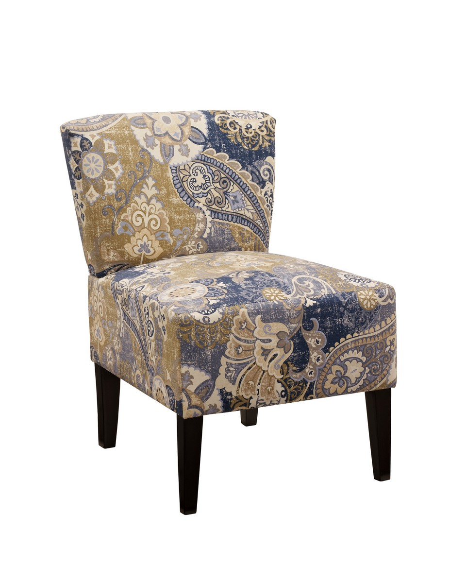 Ashley Ravity Accent Chair Denim ASHLEY at