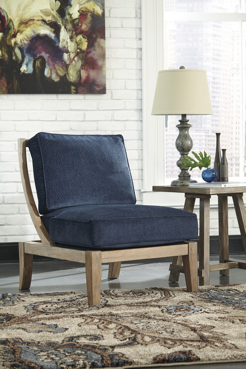 Ashley Carlino Mile Accent Chair - Mineral