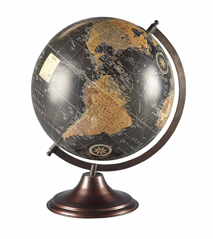 Ashley Oakden Globe Sculpture - Multi