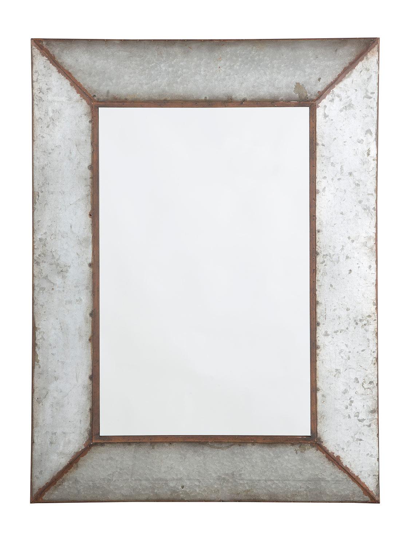 Ashley O'Tallay Accent Mirror - Antique Gray
