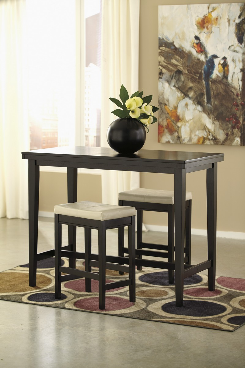Ashley Kimonte Counter Height Dining Set A