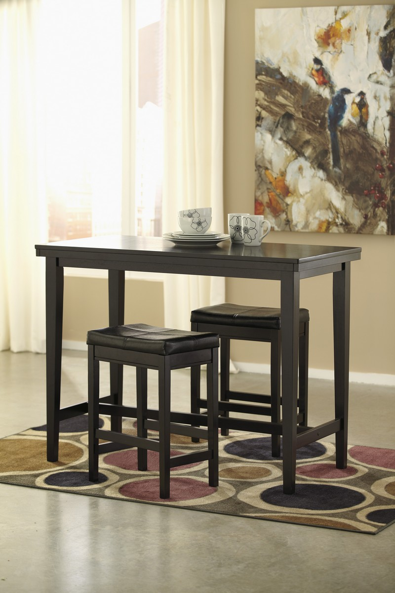 Ashley Kimonte Counter Height Dining Set B Ashley D250 13