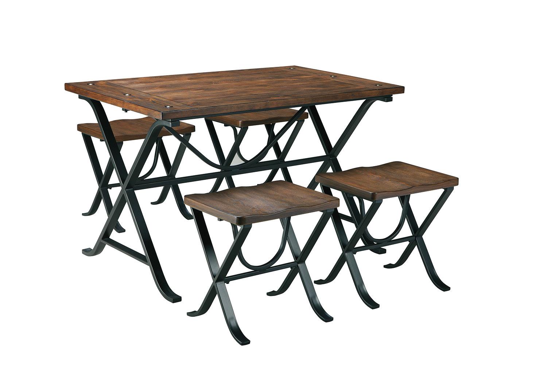 Ashley Freimore Rectangular Dining Table Set