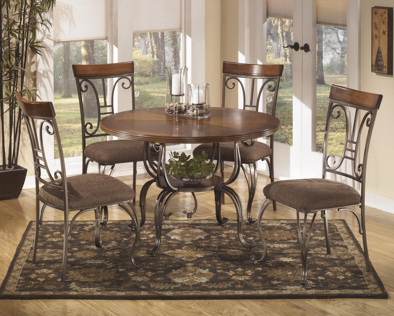 Ashley Plentywood Round Dining Set