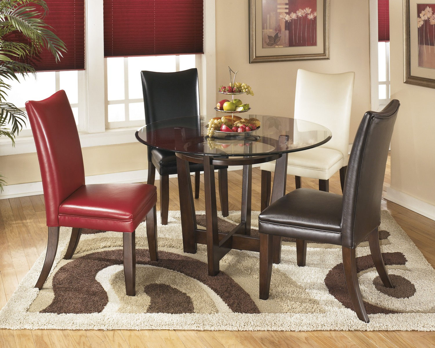 Ashley Charrell Round Dining Set