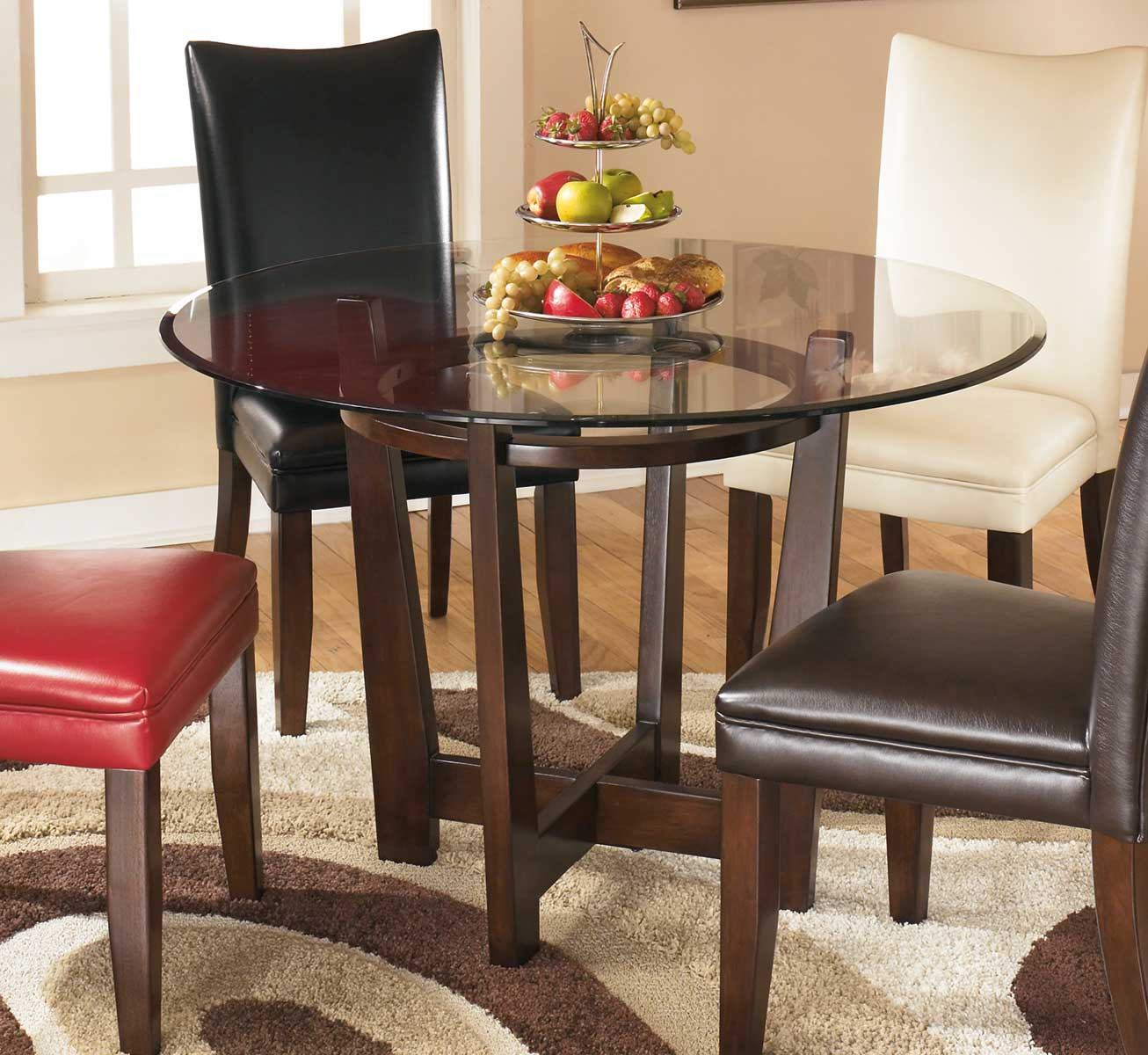 Ashley Charrell Round Dining Room Table ASHLEY-D357-15 at ...