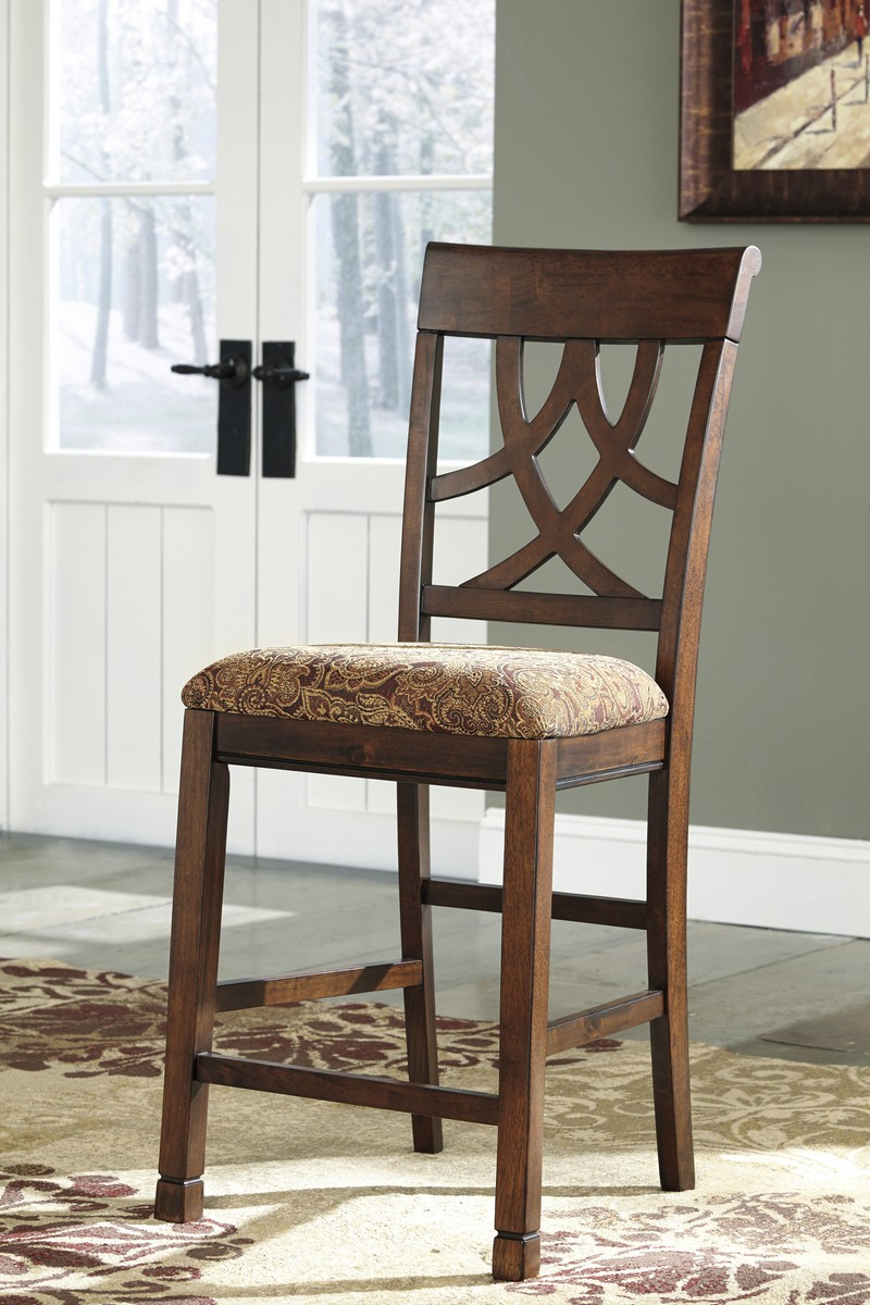 Ashley Leahlyn Upholstered Counter Stool