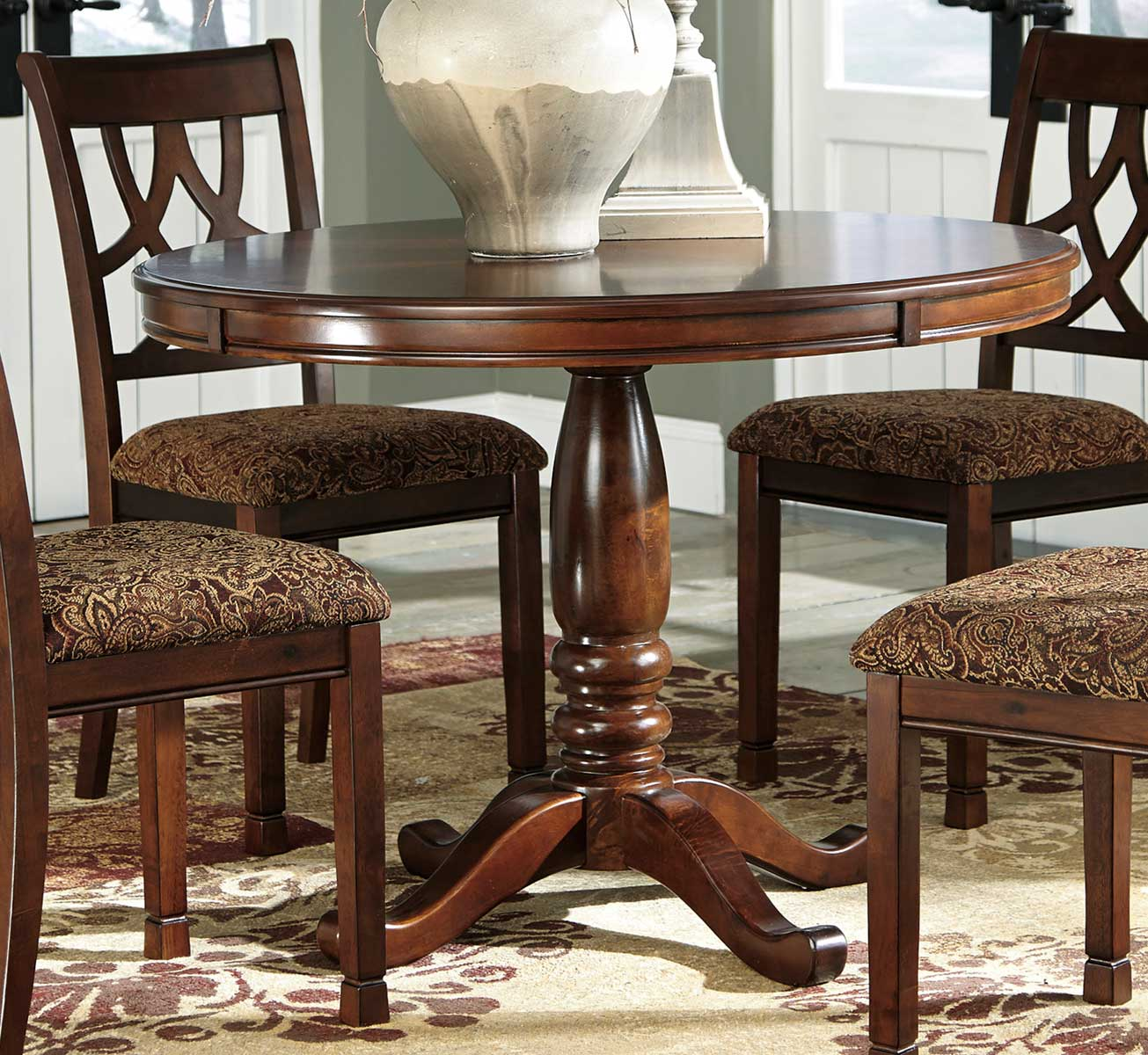 Ashley Furniture Round Dining Room Sets Mandara