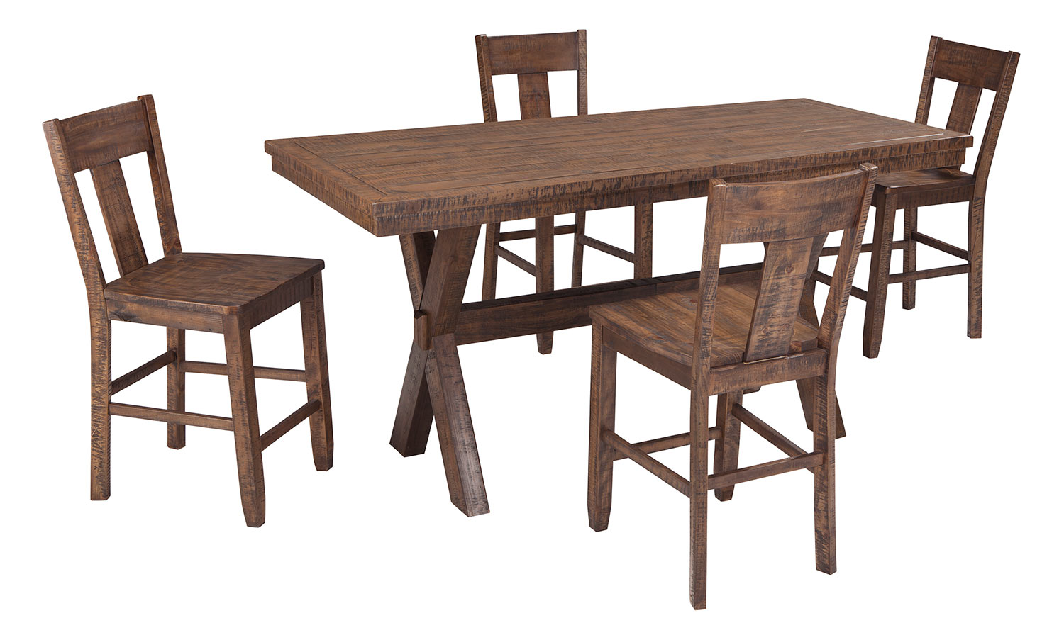 Ashley Walnord Counter Dining Set