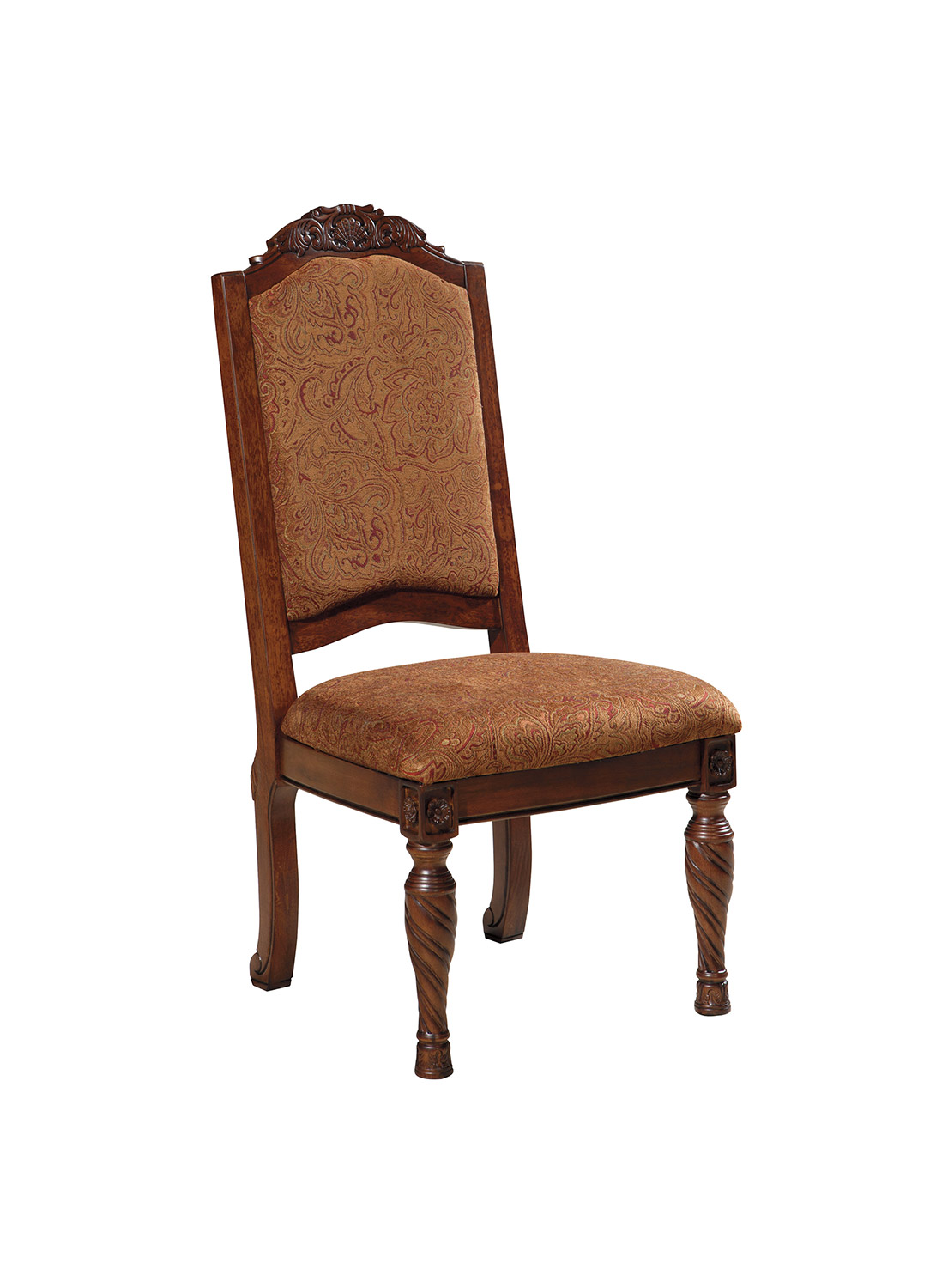 North Shore Round Pedestal Dining Room Set From Ashley: Ashley North Shore Dining Upholstery Side Chair ASHLEY