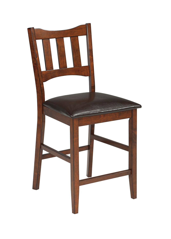 Ashley Renaburg Upholstered Counter Stool Ashley D574 124 At