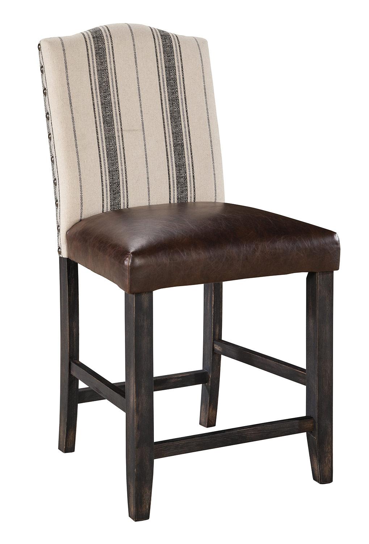 Ashley Moriann Upholstered Counter Stool Ashley D608 324