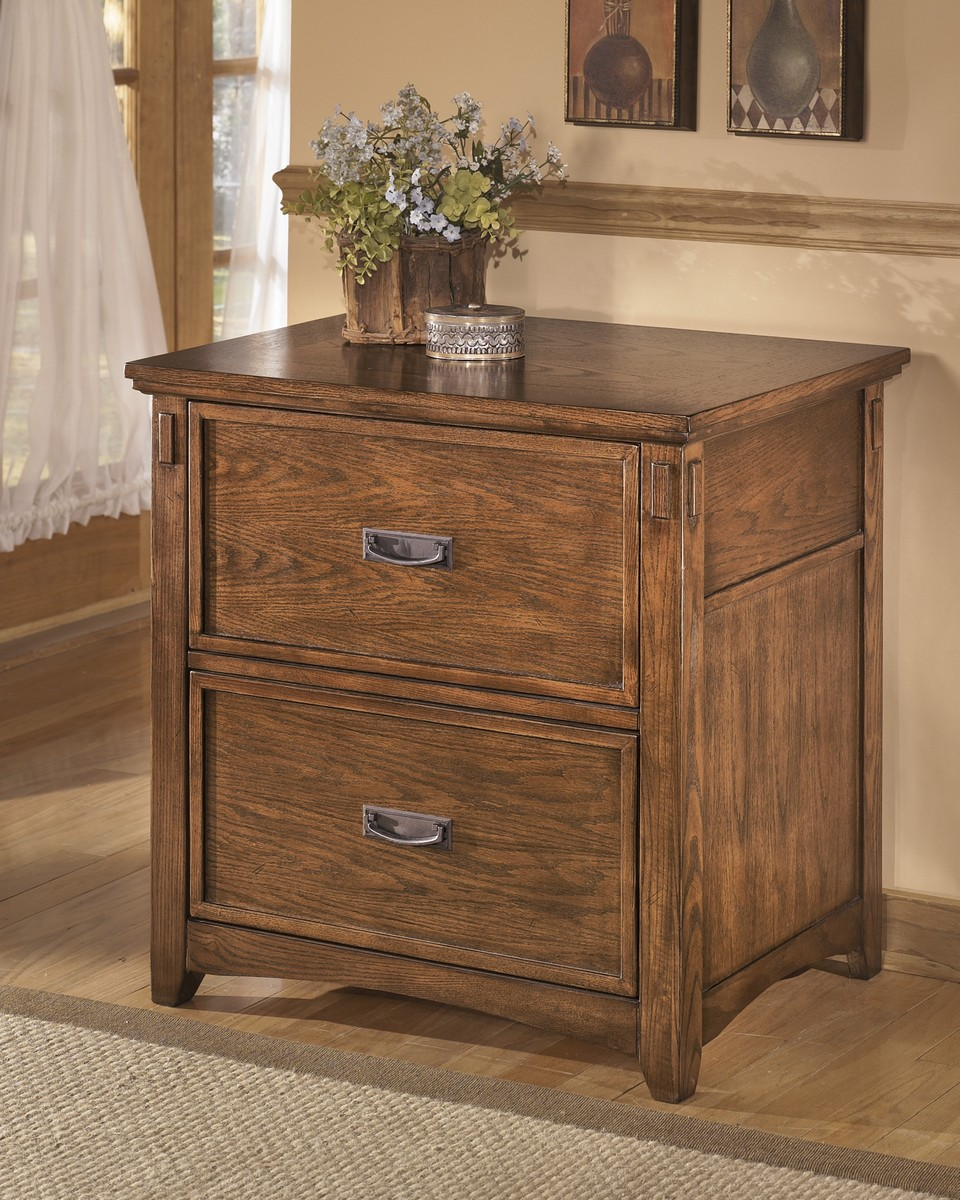 Ashley Cross Island Lateral File Cabinet Ashley H319 42 At