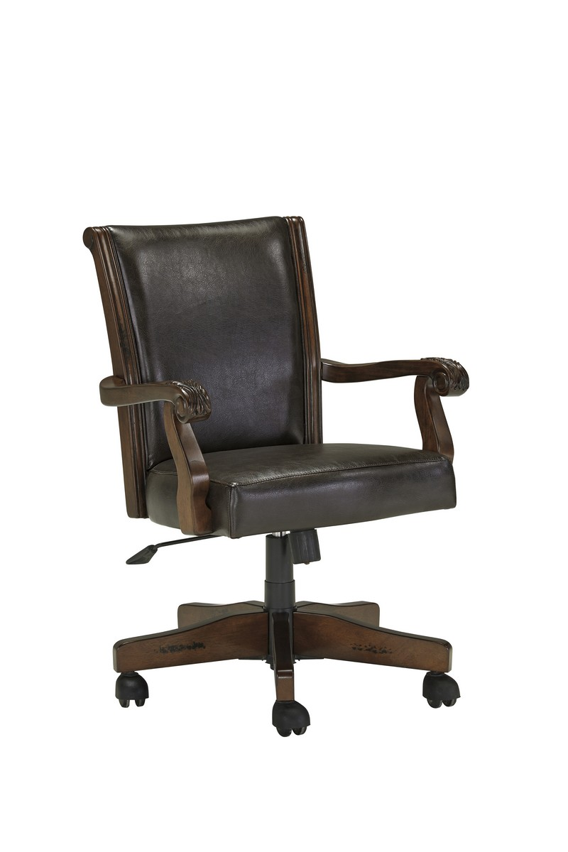 Ashley Alymere Home Office Swivel Desk Chair Ashley H669 01a At