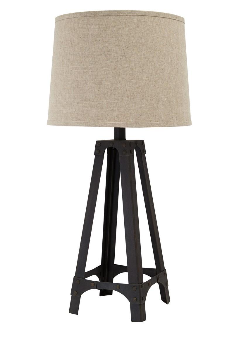 Ashley Satchel Metal Table Lamp