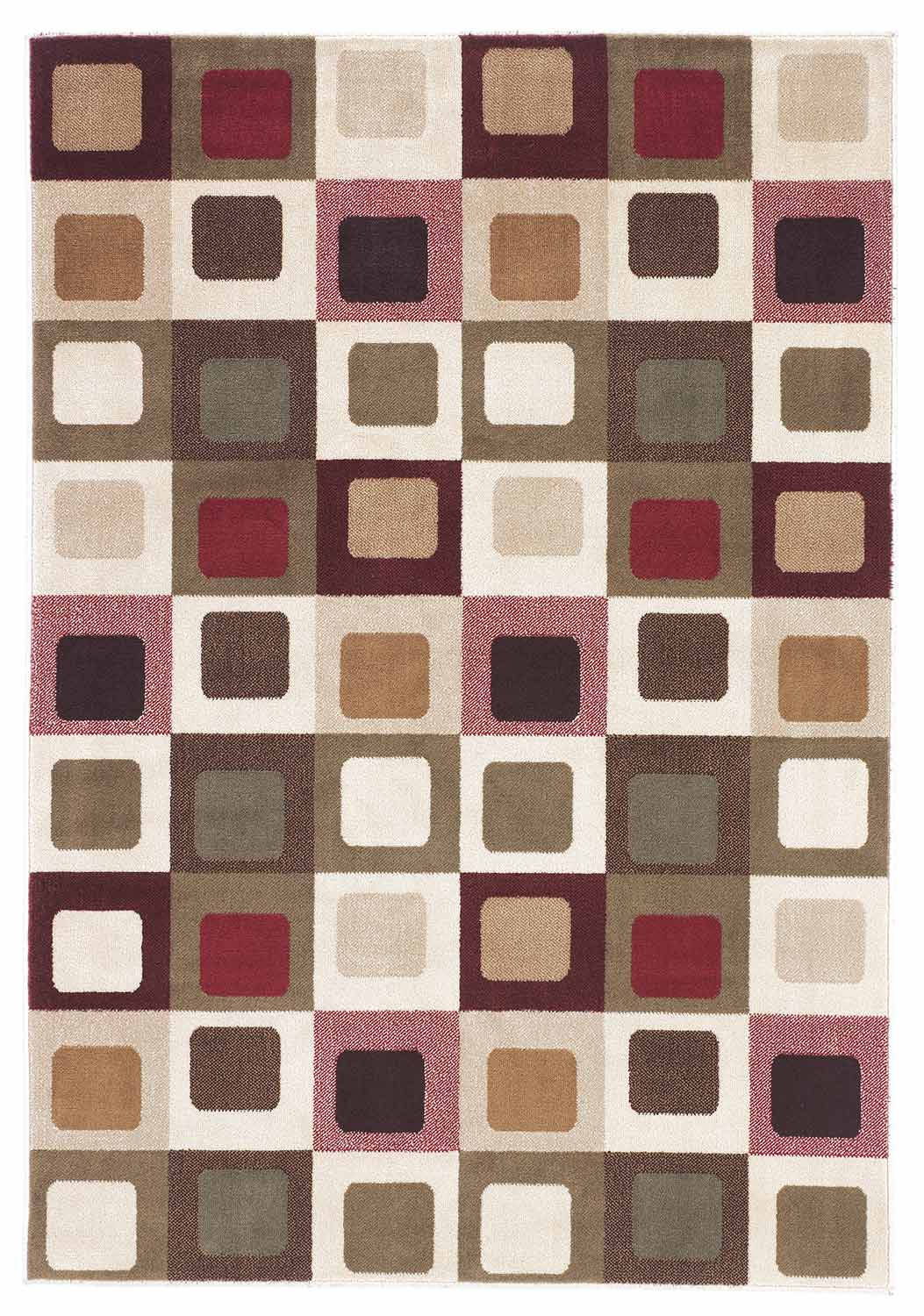 Ashley Sloane Area Rug - Red