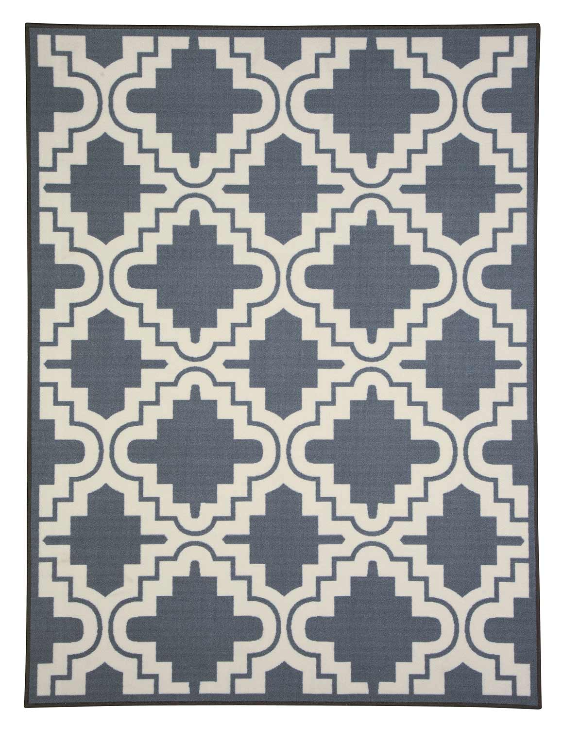 Ashley Jacory Medium Rug - Gray/White