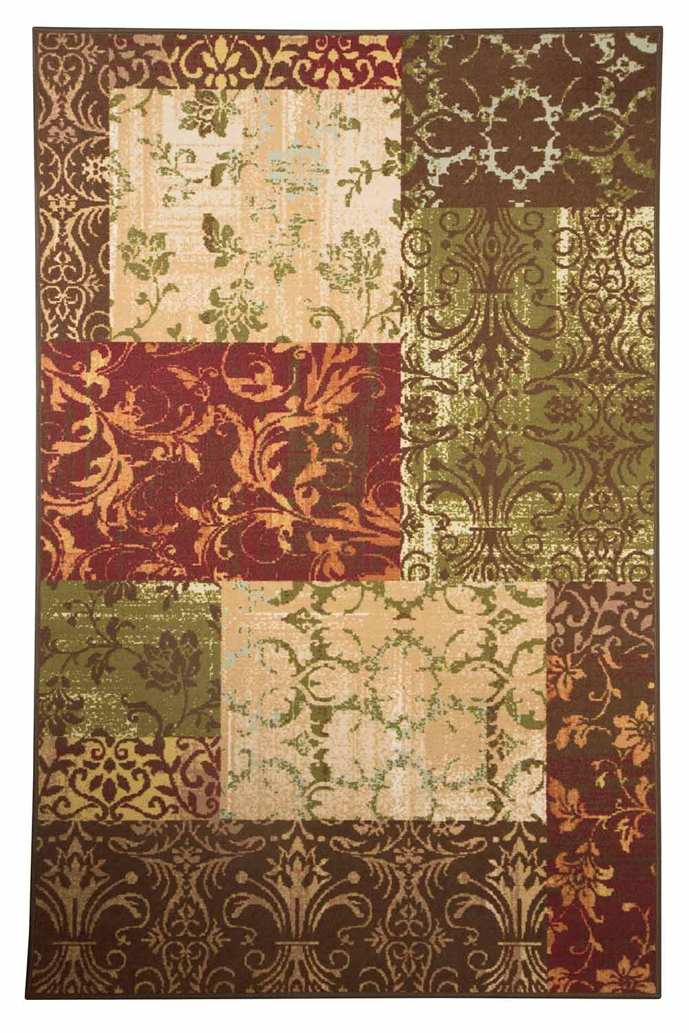 Ashley Milner Medium Rug - Brown/Spice