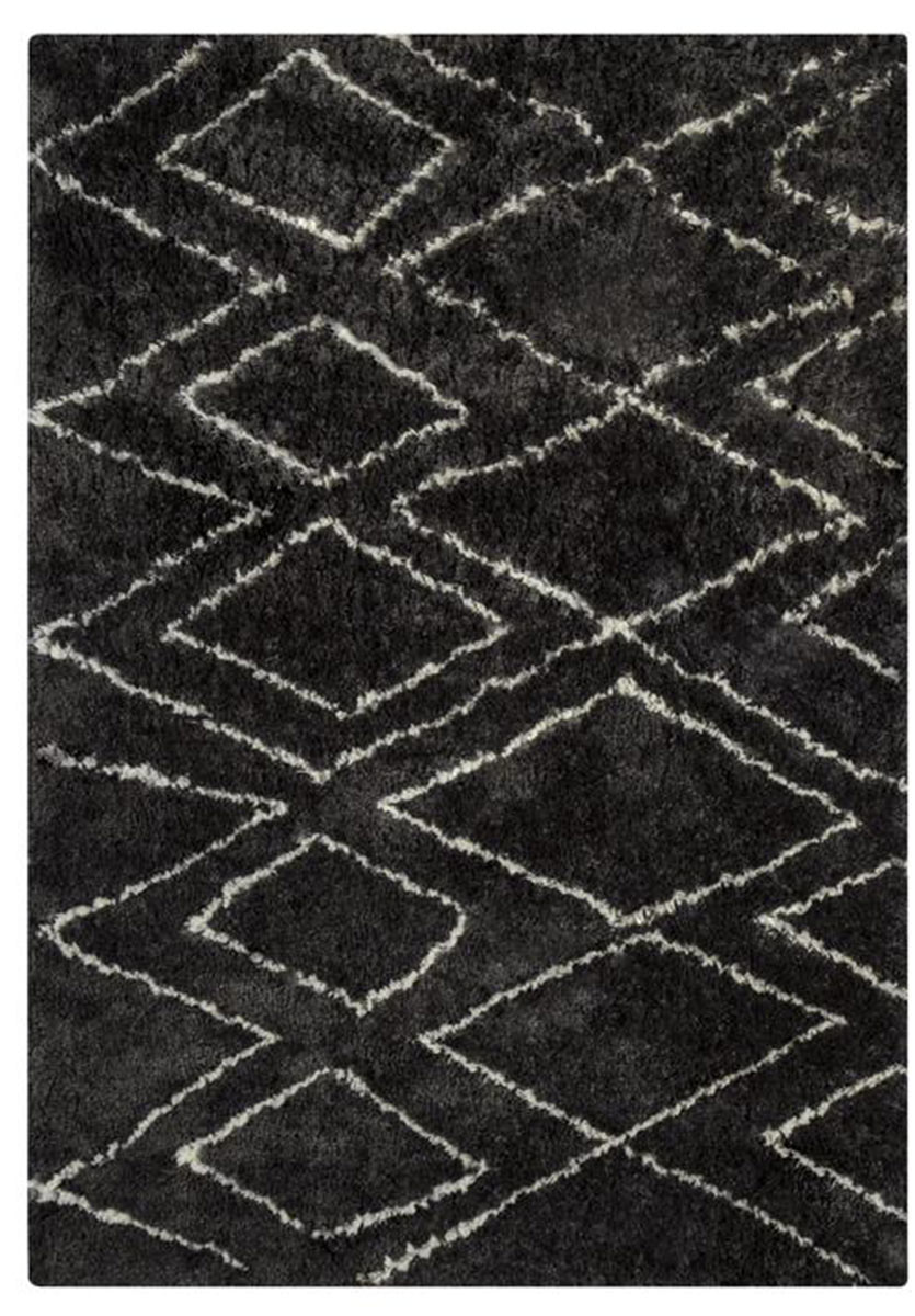 Ashley Deryn Medium Rug - Black/White