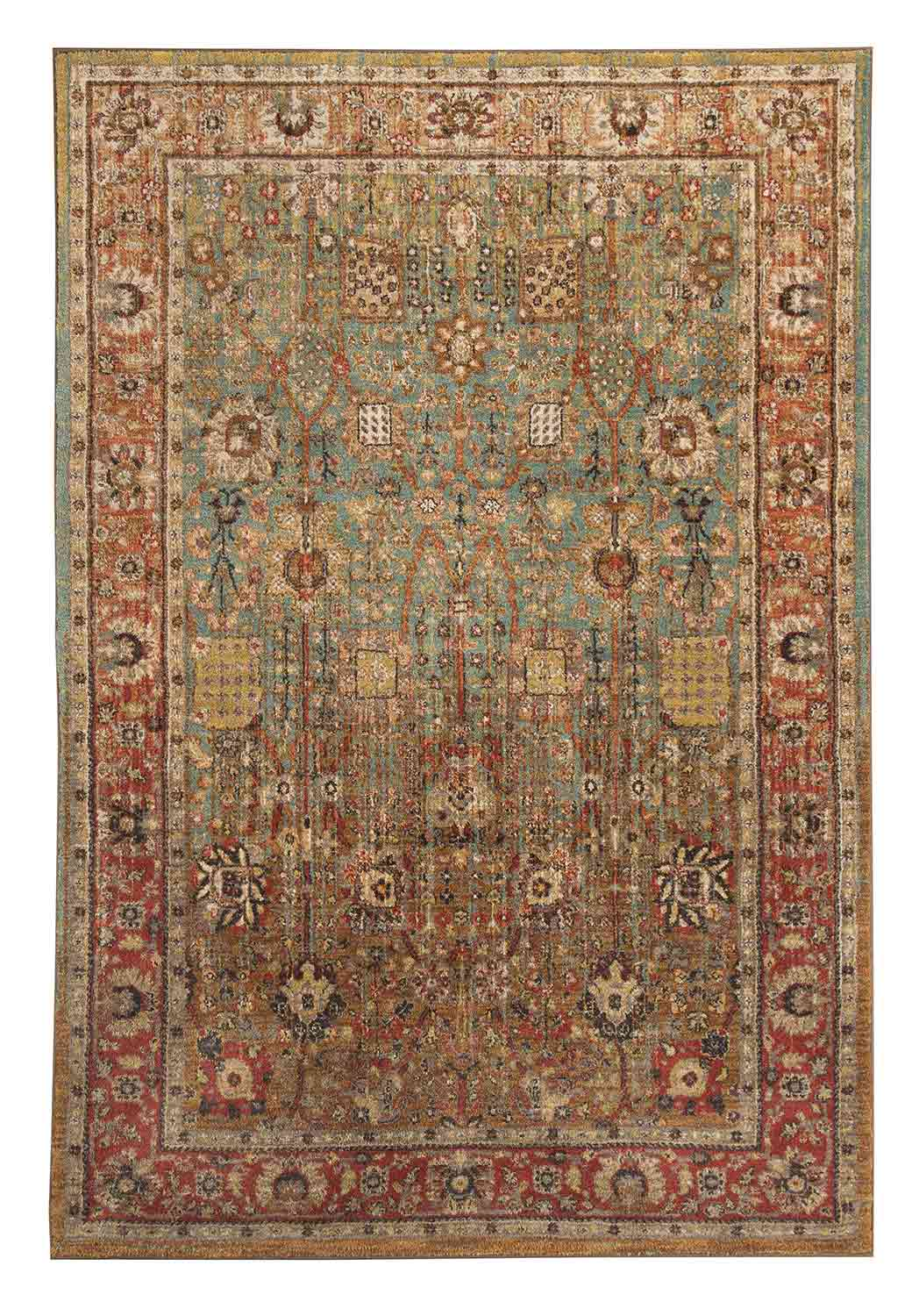 Ashley Christen Medium Rug - Aquamarine
