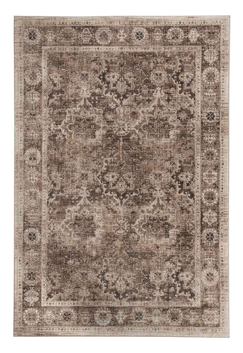 Ashley Geovanni Large Rug - Stone/Taupe