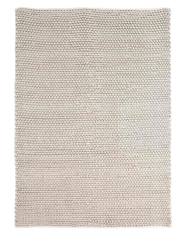Ashley Handwoven Large Rug - Gray