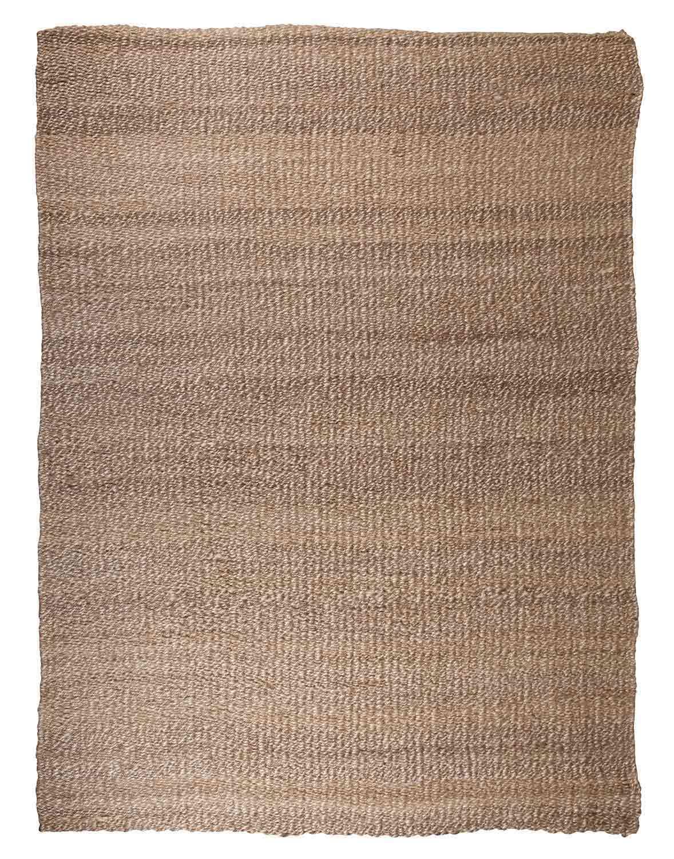 Ashley Textured Large Rug - Tan/White