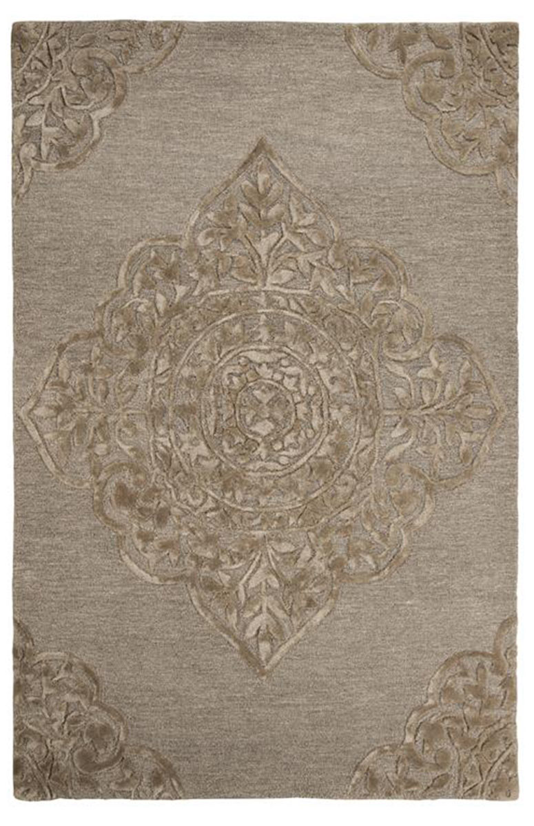 Ashley Zavier Large Rug - Taupe