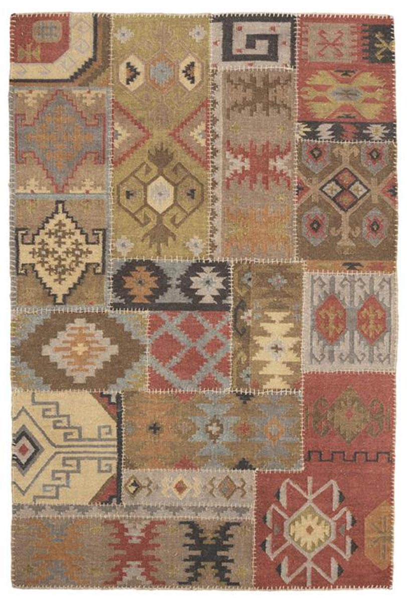 Ashley Posey Medium Rug - Multi