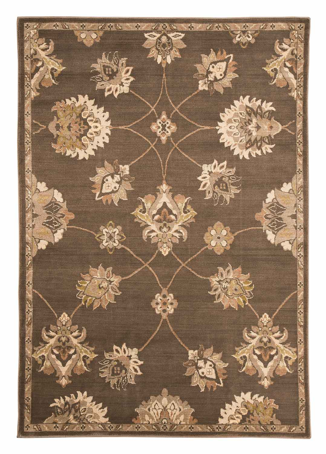 Ashley Adelina Medium Rug Taupe Ashley R401842 At