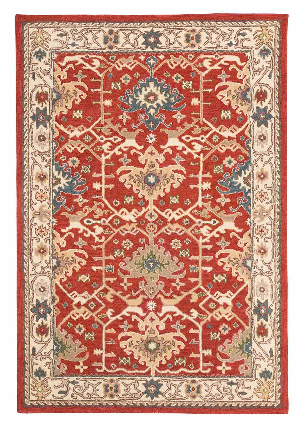 Ashley Forcher Large Rug - Brick