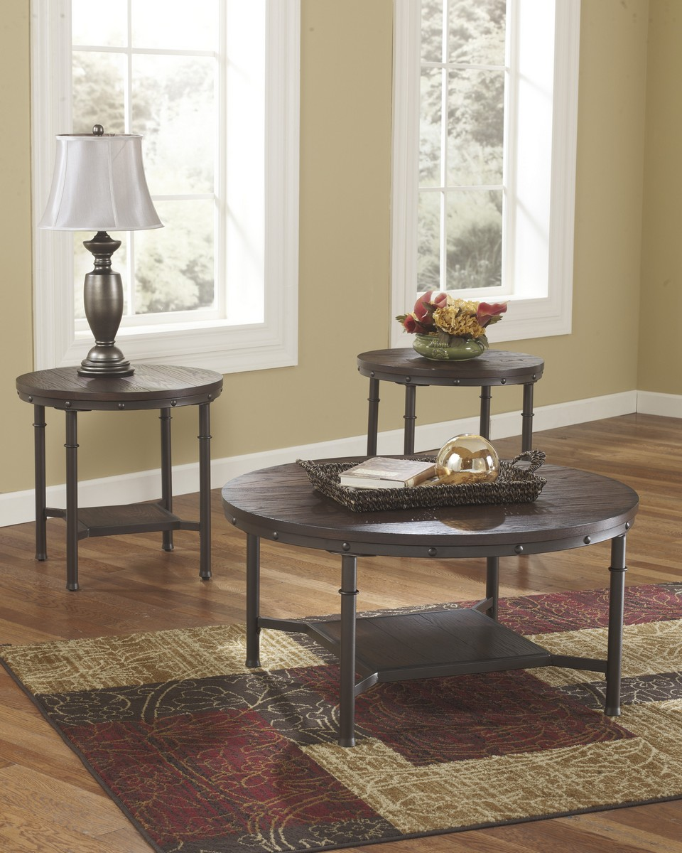 Ashley Sandling Occasional Table Set
