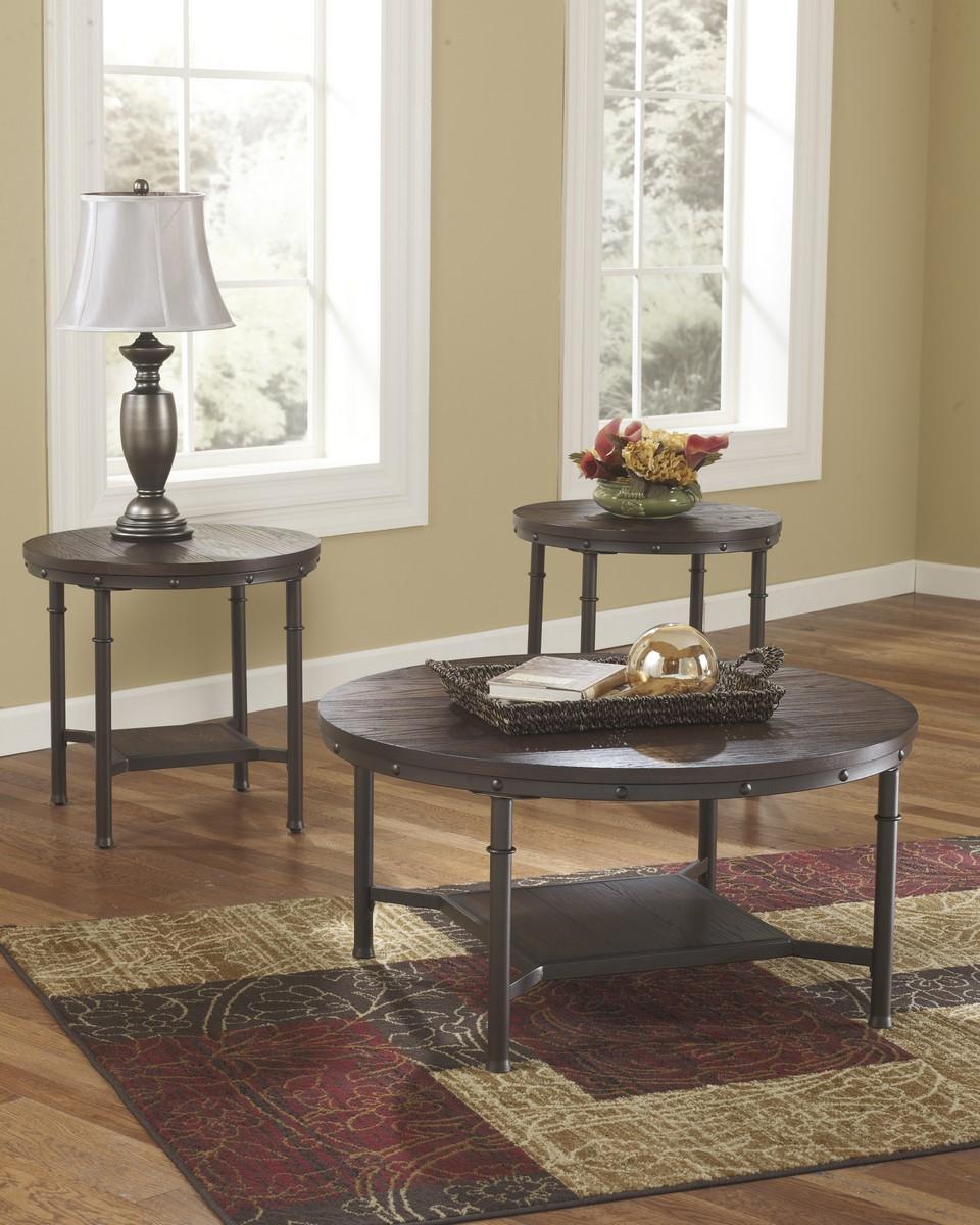 Ashley Sandling Occasional Table Set