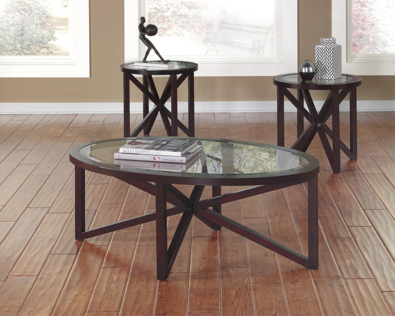 Ashley Sleffine Occasional Table Set