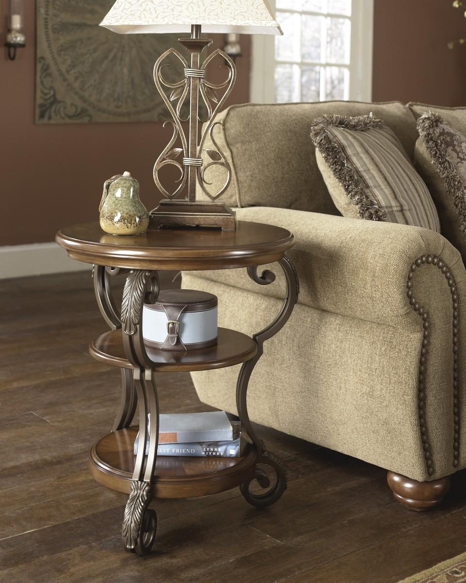 Ashley Nestor Chair Side End Table