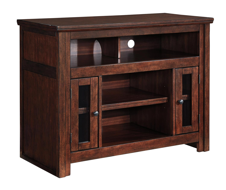 ashley harpan 42 inch tv stand ashley w797 18 at. Black Bedroom Furniture Sets. Home Design Ideas