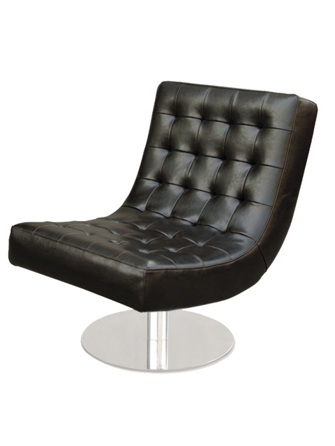 Alphaville Design Holz Lounge Chair-Ebony