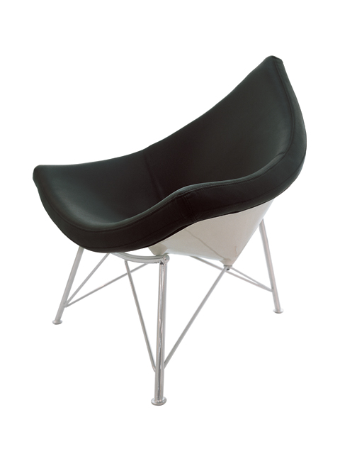 Alphaville Design Oyster Chair-Black