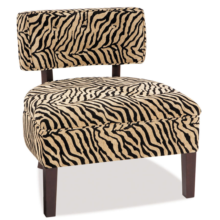 Avenue Six Curves Button Back Chair - Simba