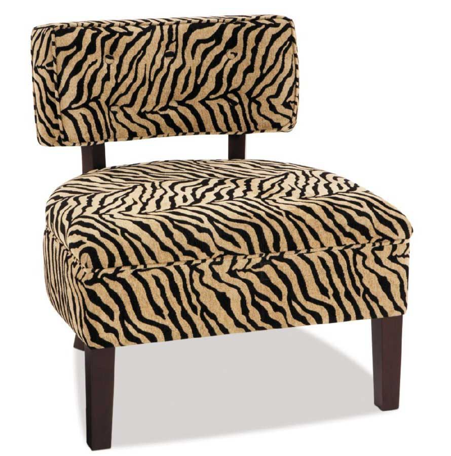 Avenue Six Curves Button Chair - Simba